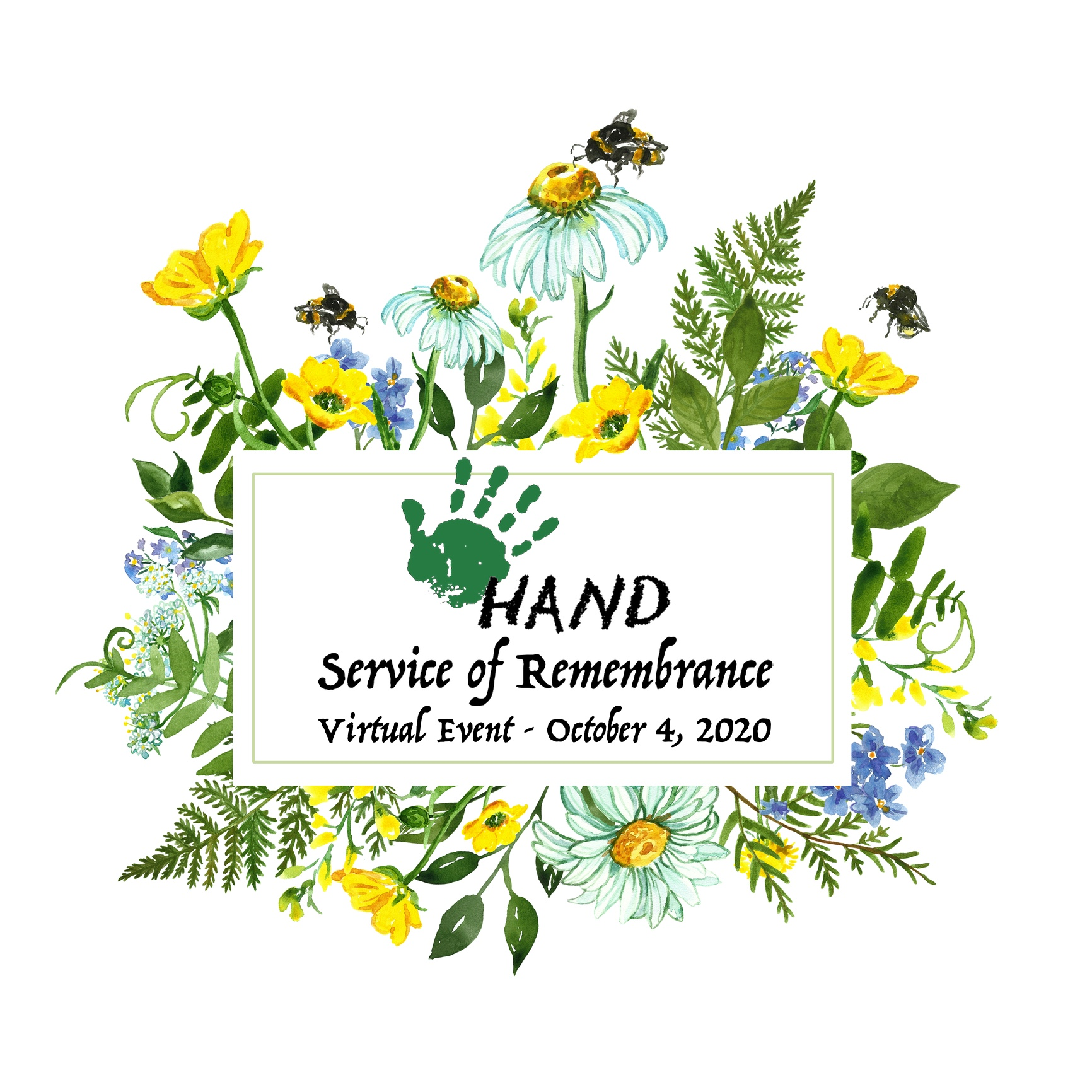 HAND Service of Remembrance Virtual Event - October 4, 2020